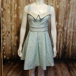 Altar'd State jacquard whimsical dress